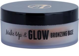 W7 Cosmetics Make Up & Glow krémový bronzer