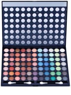 W7 Cosmetics Paintbox paleta očních stínů se zrcátkem a aplikátorem
