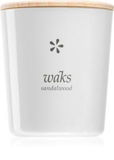 Waks Sandalwood geurkaars 200 gr