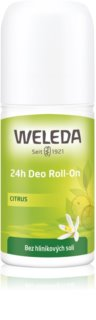 Weleda Citrus desodorante roll-on sin sales de aluminio