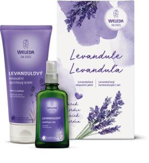 Weleda Lavender lote cosmético I.