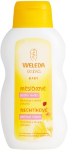 Weleda Baby and Child leite corporal com calêndula