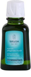 Weleda Rosemary óleo capilar para reforçar e dar brilho ao cabelo