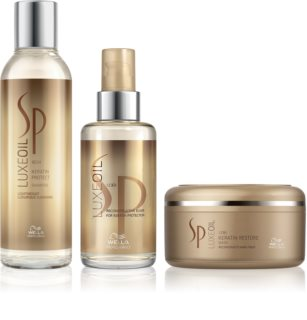 Wella Professionals SP Luxeoil Cosmetic Set I. (For Damaged Hair) for Women