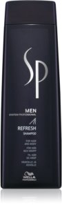 Wella Professionals SP Men Refresh Shampoo For Hair And Body