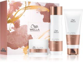 Wella Professionals Fusion козметичен пакет  (за увредена коса)