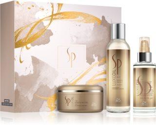 Wella Professionals SP Luxe Oil козметичен пакет  (за увредена коса)