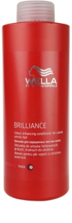 Wella Professionals Brilliance balsamo per capelli grossi e tinti
