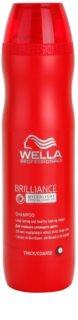 Wella Professionals Brilliance champú para cabello áspero y teñido