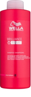 Wella Professionals Brilliance Shampoo For Fine, Colored Hair