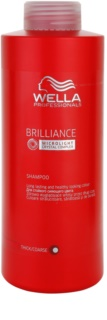 Wella Professionals Brilliance Shampoo For Coarse, Colored Hair