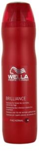 Wella Professionals Brilliance sampon a vékony szálú, festett hajra