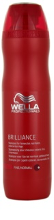 Wella Professionals Brilliance champô para cabelo fino e colorido