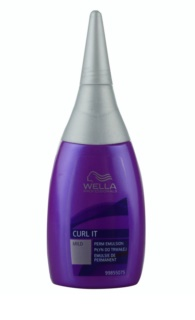 Wella Professionals Curl It Mild permanent pentru par vopsit si sensibil