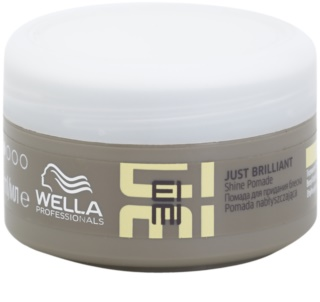 Wella Professionals Eimi Just Brilliant pomáda pro lesk a hebkost vlasů
