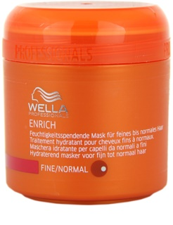 Wella Professionals Enrich Moisturizing Treatment For Fine Hair And Hair Without Volume