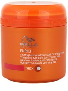 Wella Professionals Enrich Feuchtigkeitsspendende Maske mit ernährender Wirkung für starkes, raues und trockenes Haar