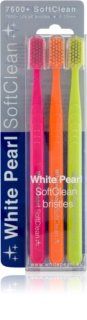 White Pearl 7600+ SoftClean soft fogkefék 3 db