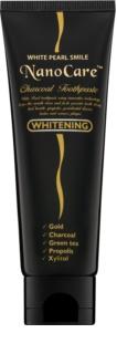 White Pearl NanoCare Whitening dentifrice aux nanoparticules d'or et de charbon actif