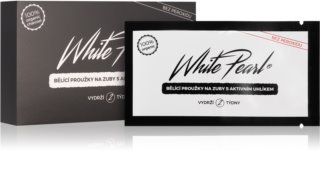 White Pearl Charcoal  bandes blanchissantes dents