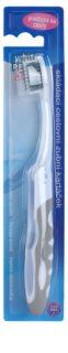 White Pearl Smile Folding Travel Toothbrush