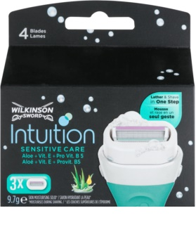Wilkinson Sword Intuition Sensitive Care recambios de cuchillas 3 uds