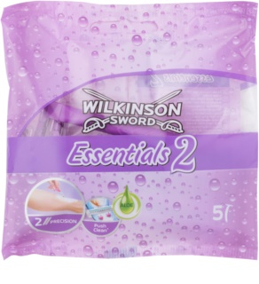 Wilkinson Sword Essentials 2 rasoi monouso 5 pz da donna