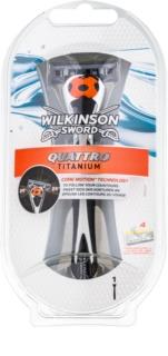 Wilkinson Sword Quattro Titanium maquinilla de afeitar