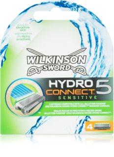 Wilkinson Sword Hydro Connect 5 recambios de cuchillas para pieles sensibles
