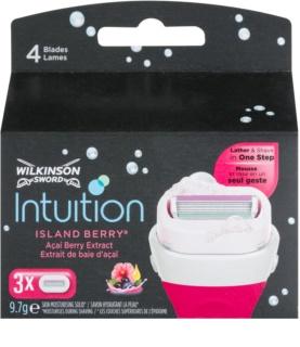 Wilkinson Sword Intuition Island Berry Ersatzklingen 3 pc