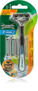 Wilkinson Sword Xtreme 3 Hybrid rasoir + lames de rechange 4 pièces