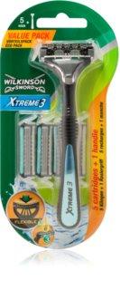 Wilkinson Sword Xtreme 3 Hybrid maquinilla de afeitar + recambios de cuchillas 4 uds