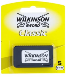 Wilkinson Sword Classic Vervangende Open Messen 5st.