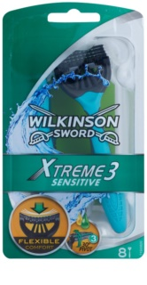 Wilkinson Sword Xtreme 3 Sensitive самобръсначки за еднократна употреба