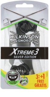 Wilkinson Sword Xtreme 3 Silver Edition одноразова бритва