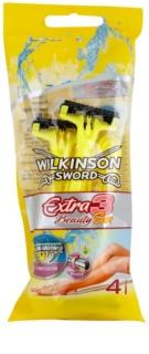 Wilkinson Sword Extra 3 Beauty Sun brivniki za enkratno uporabo 4 kosi