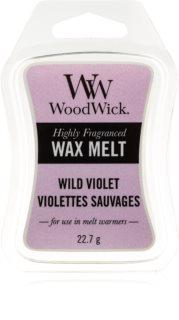 Woodwick Wild Violet vosk do aromalampy