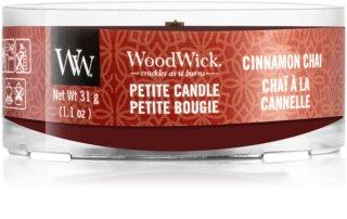 Woodwick Cinnamon Chai lumânare votiv cu fitil din lemn