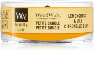 Woodwick Lemongrass & Lily Votive Candle 31 g Wooden Wick