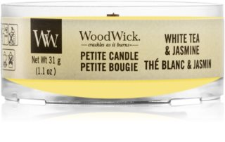 Woodwick Vanilla Sol votive candle Wooden Wick