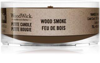 Woodwick Wood Smoke sampler z drewnianym knotem