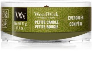 Woodwick Evergreen lumânare votiv cu fitil din lemn