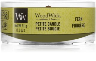 Woodwick Fern вотивна свещ 31 гр. с дървен фитил