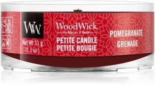 Woodwick Pomegranate votivní svíčka s dřevěným knotem