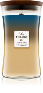 Woodwick Trilogy Nautical Escape Scented Candle 609,5 g Wooden Wick