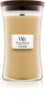 Woodwick At The Beach ароматна свещ  609,5 гр. голяма