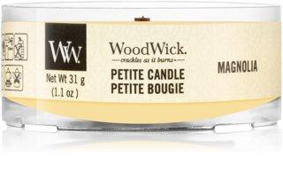 Woodwick Magnolia sampler z drewnianym knotem