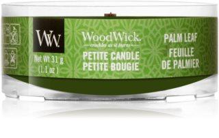 Woodwick Palm Leaf вотивна свічка 31 гр з дерев'яним гнітом