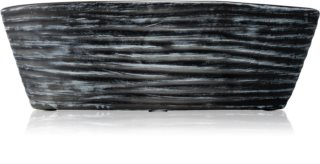 Woodwick Black Shell Black Cherry scented candle wooden wick (hearthwick)