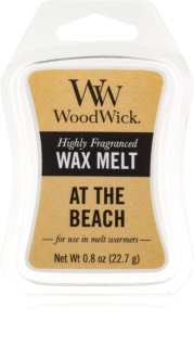 Woodwick At The Beach cera derretida aromatizante